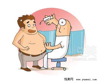 但是我们发现,肥胖病人吸脂后,皮下脂肪含量减少了,体型改善后,变得
